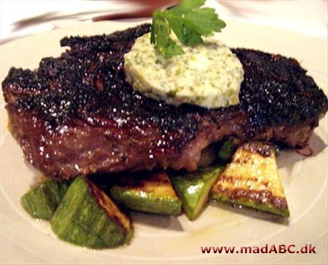 how to prepare bison ribeye