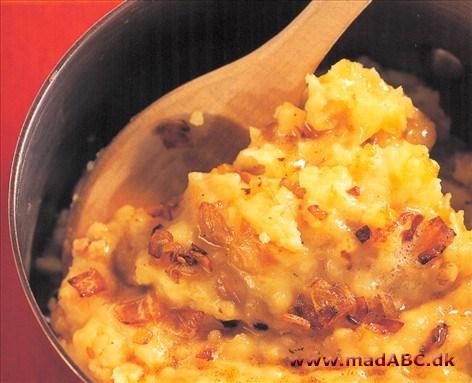 kartoffelmos med løg