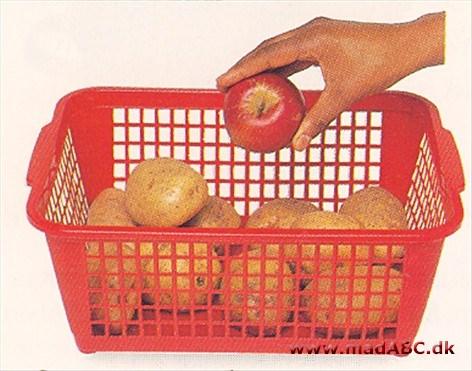 opbevaring til kartofler