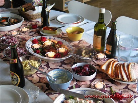 Danish Christmas lunch is just as important as the preceding dinner, and is usually held on Christmas or Boxing Day