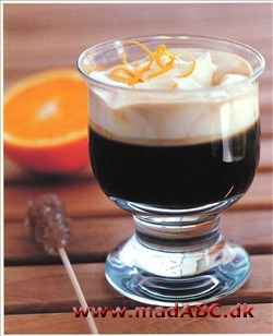 Irish coffee med orange