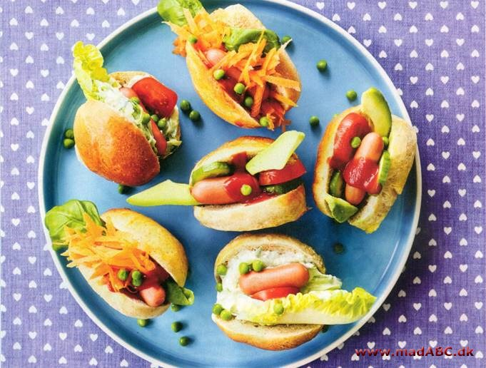 Mini-hotdogs