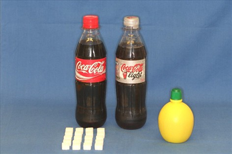 sukker i drikkevarer